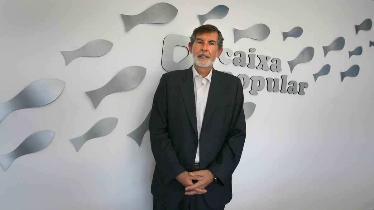 Rosendo Ortí, director general de Caixa Popular.