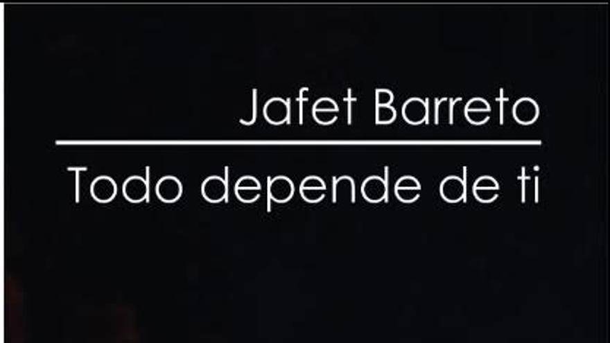 Portada del libro 'Todo depende de ti' de Jafet Barreto.