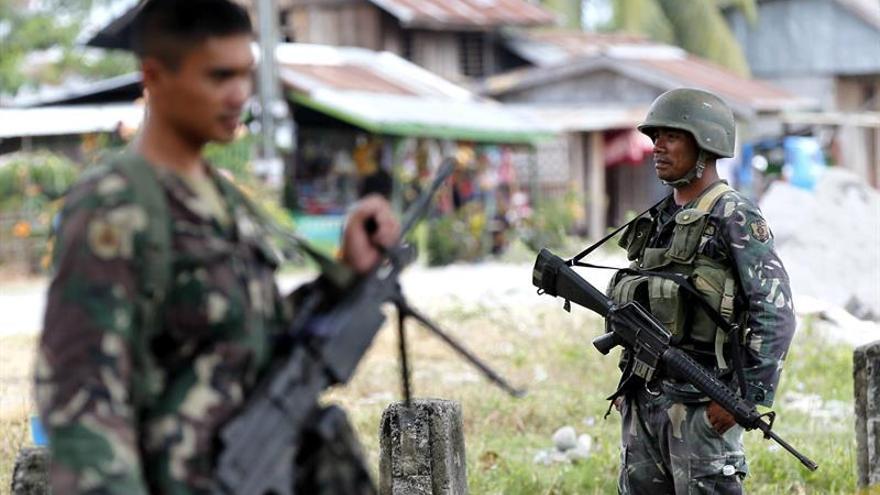 Al menos 33 rebeldes muertos en enfrentamientos con el Ejército de Filipinas