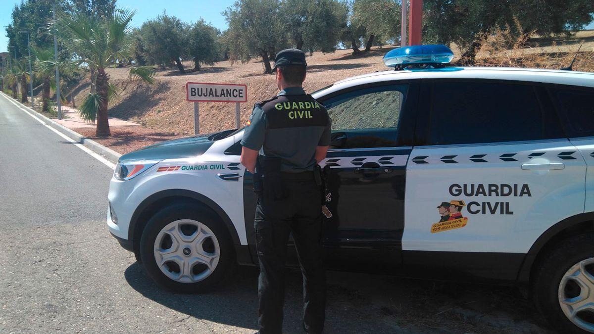 Guardia Civil en Bujalance.