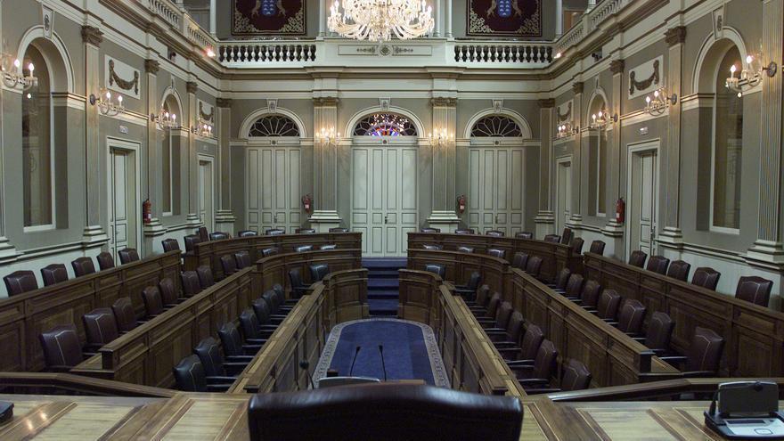 Parlamento de Canarias. Foto: Parcan