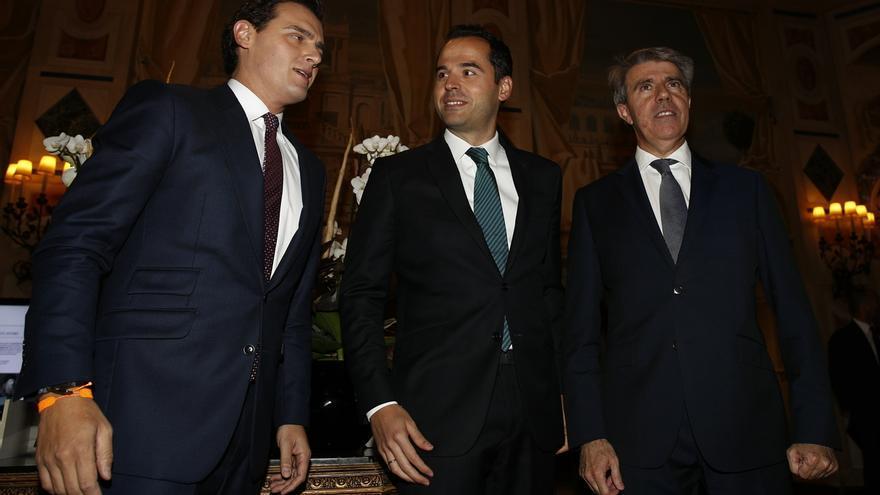 """Aguado defiende que Garrido no tiene """"ni un atisbo de venganza"""" y cree que Ayuso habla """"desde el odio"""""""