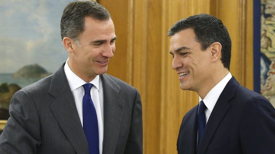 Sánchez confía en que si Rajoy fracasa, pueda entenderse con Iglesias y formar un Gobierno de progreso