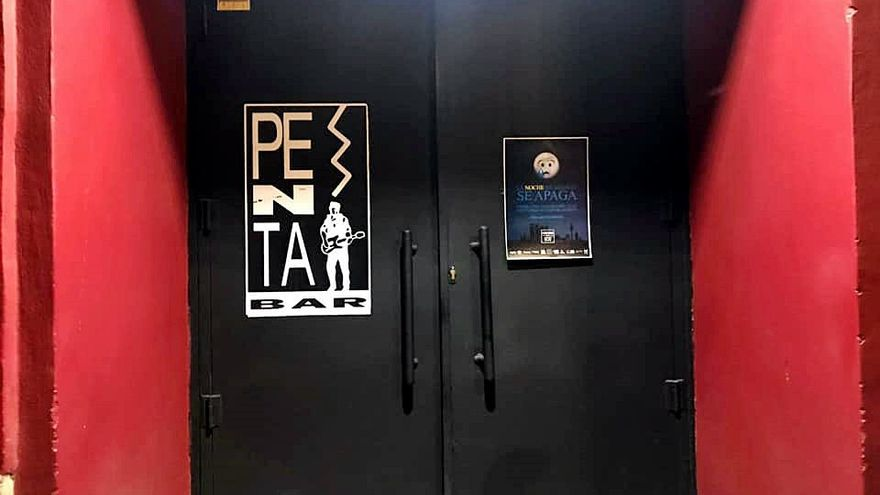 La puerta del Penta.