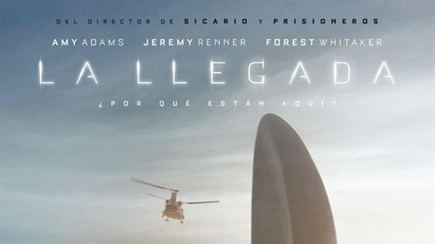 Cartel de 'La llegada', de Dennis Villeneuve