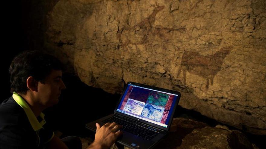 """Una nueva técnica saca a la luz las """"pinturas fantasma"""" del arte rupestre"""