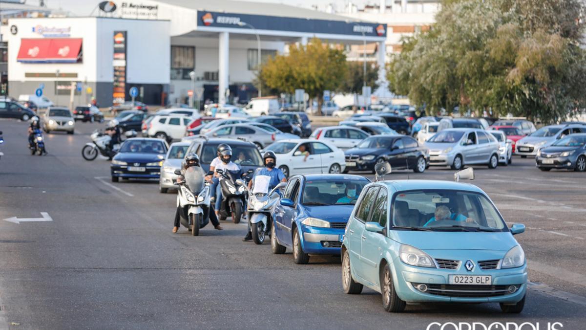 Vehículos en Córdoba.
