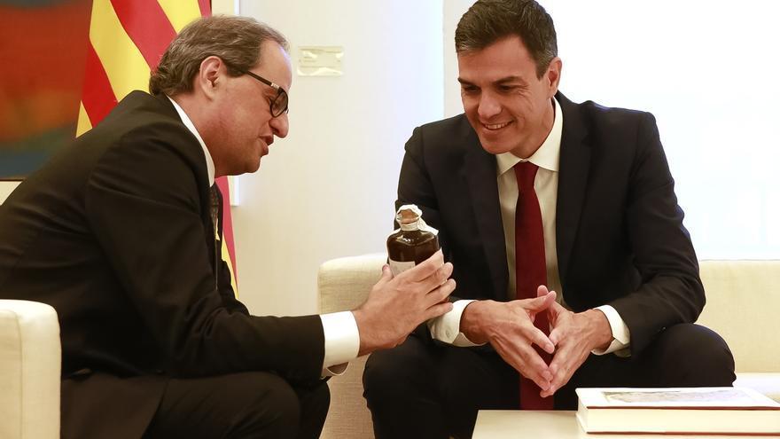 Torra no renuncia a ninguna vía para la independencia pero acepta reunir la Comisión bilateral
