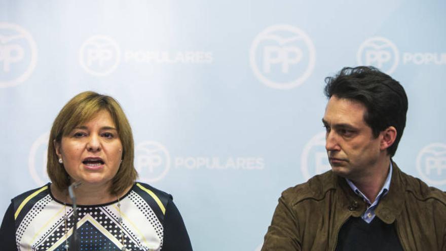Isabel Bonig y Vicente Betoret.