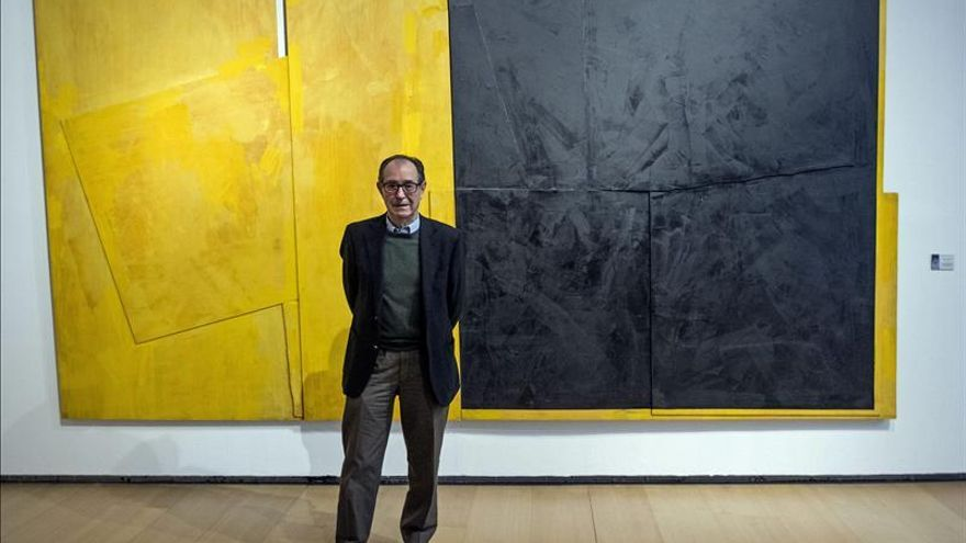 El arte abstracto de Rafael Canogar se refleja en 33 obras en el IVAM