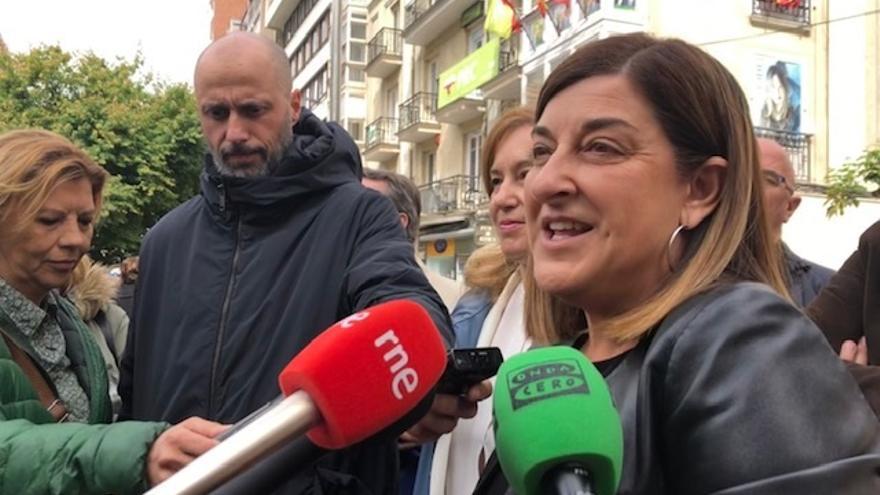"""Buruaga acaba la campaña convencida de que """"Cantabria va a pedir  el cambio"""" y de que PP es la """"única"""" alternativa"""