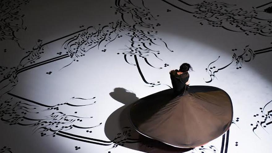 Actuación de Parastou Forouhar en Toledo / Foto: Gregorio Pérez Saavedra