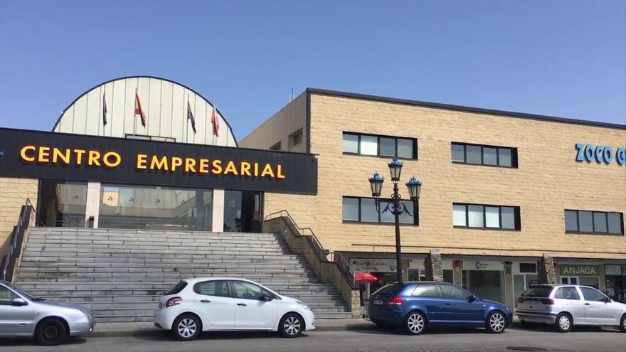 Centro empresarial Zoco Gran Santander.