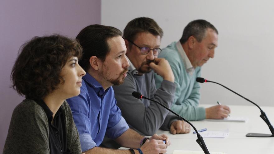 Pablo Iglesias exige a Sánchez que elija entre ellos o C's y que apoye sus cuatro grupos en el Congreso
