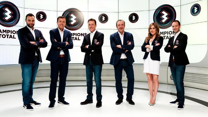 El equipo de la Champions Total de Atresmedia