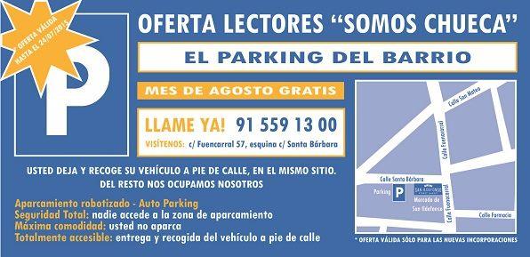 promo parking chueca
