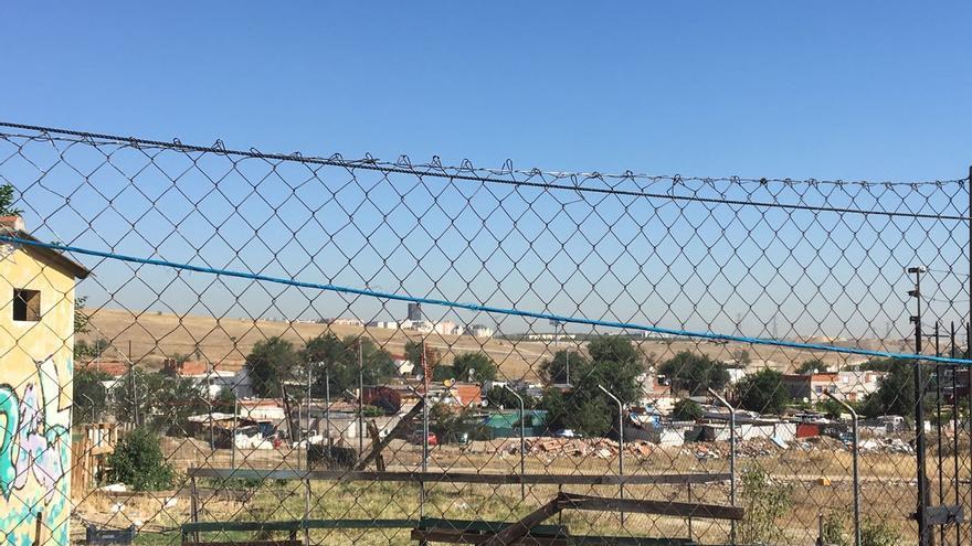 Un centro gestionado por varias organizaciones en la Cañada Real.
