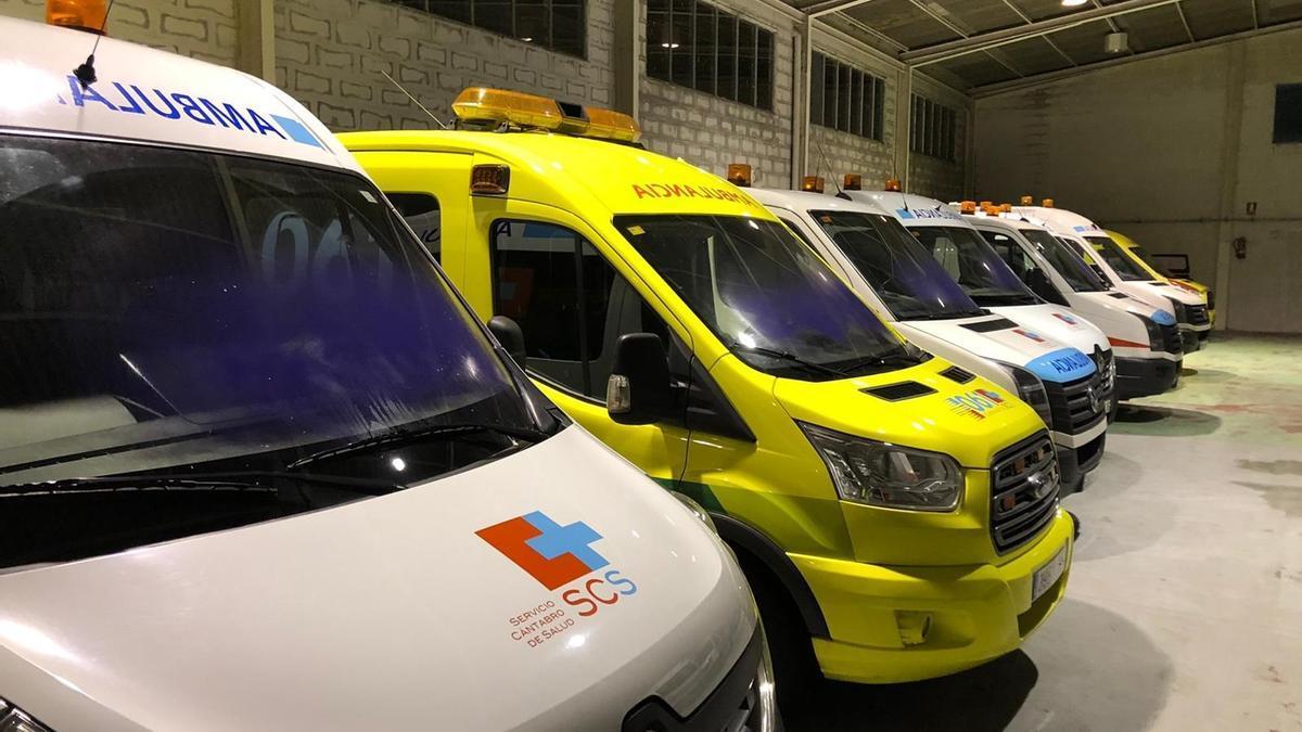 Ambulancias en Cantabria.