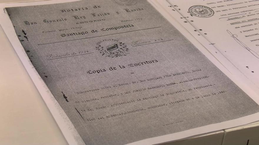 Documentos encontrados por el ayuntamiento compostelano