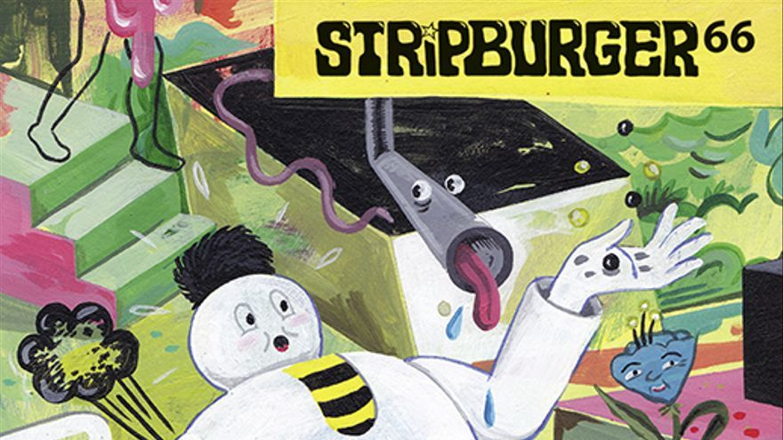 'Stripburger nº 66', una de las publicaciones presentes en 'Animal Collective'.