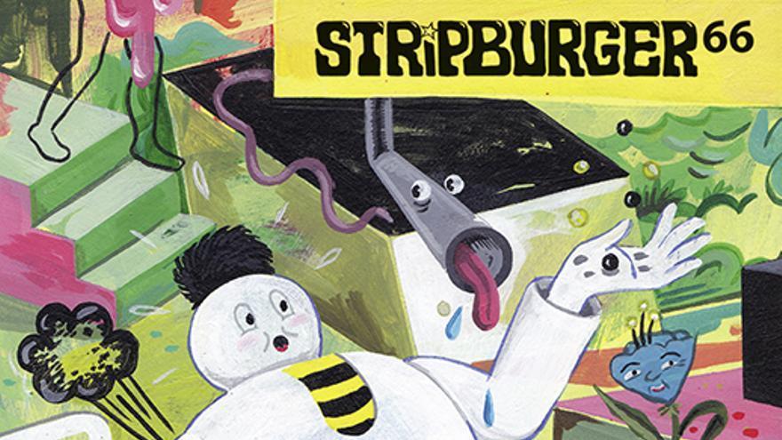 'Stripburger nº 66', una de las publicaciones presentes en 'Animal Collective'.