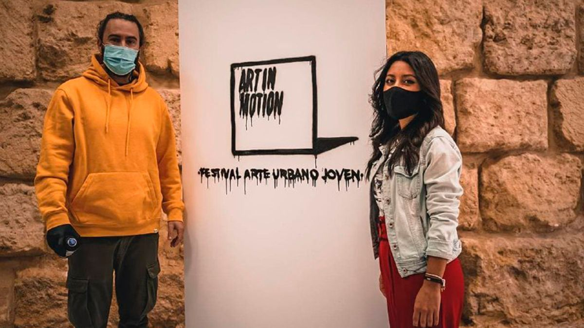 Presentación del Festival de Arte Urbano Joven Art in Motion.