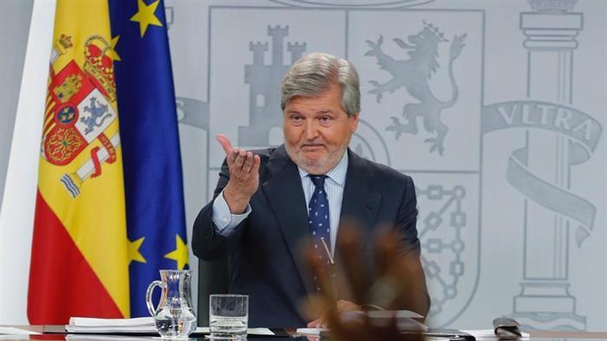 El ministro de Cultura y portavoz del Gobierno, Íñigo Méndez de Vigo.