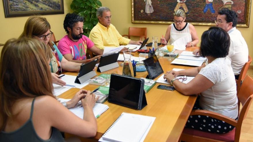 Reunión de la Mesa de la Asamblea de Extremadura / Asamblea