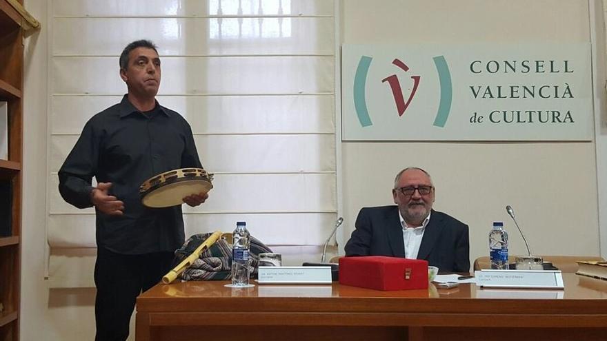 Pep Gimeno 'Botifarra' interpretó alguna de sus canciones en el CVC