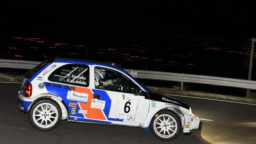 Imagen de archivo de un tramo del Rallye Isla Bonita.
