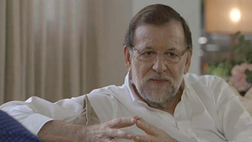 """Mariano Rajoy: """"Me siento muy español, he pateado muchos sitios de España"""""""