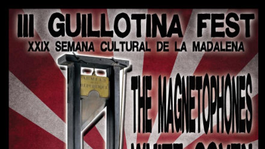 Cartel del III Guillotina Fest.