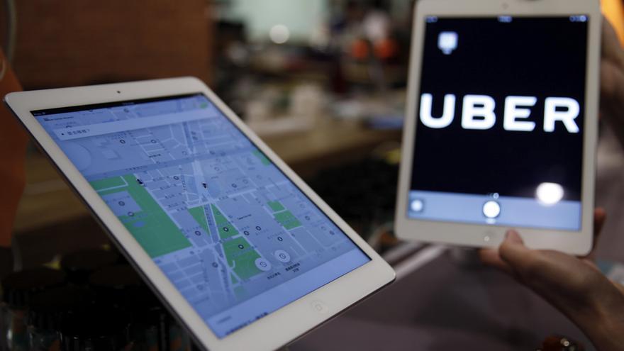 Uber registra una demanda récord de servicios en marzo