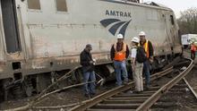 El FBI investiga si el tren que se descarriló en Filadelfia sufrió antes un impacto