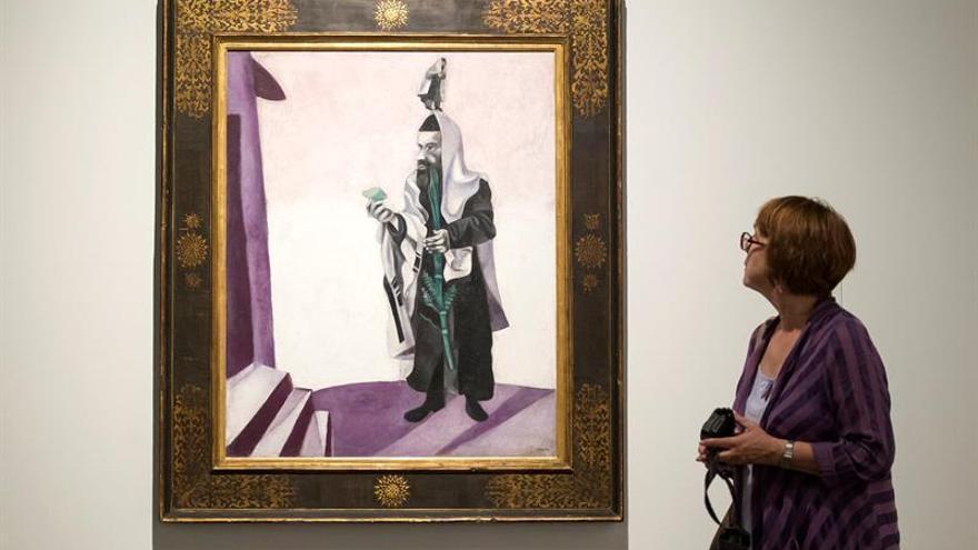 El Museo Ruso de Málaga muestra el Chagall más añorado por el artista