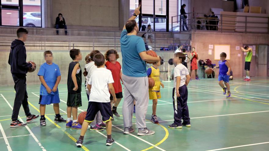 Niños del Club Baloncesto Las Palmas