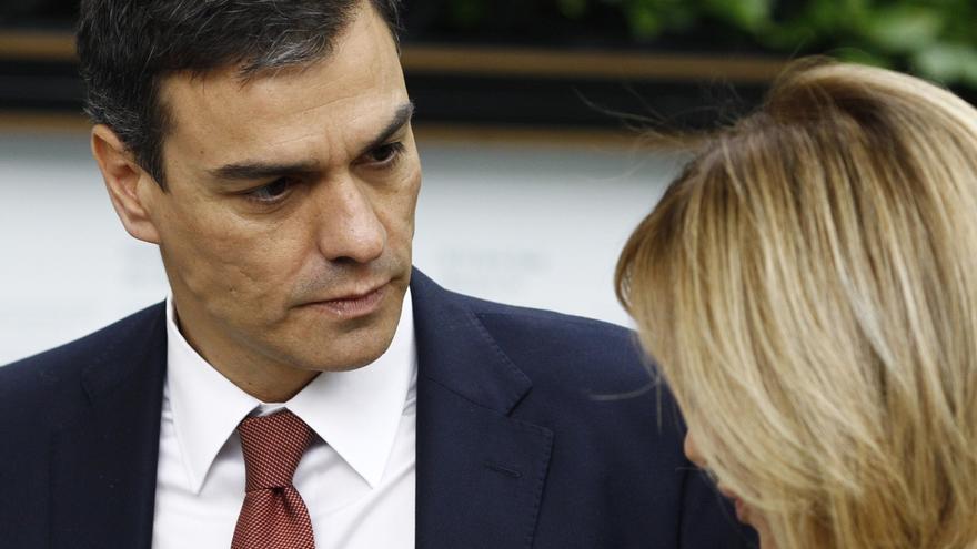 """Sánchez dice que el PSC ha entrado en el Ayuntamiento de Barcelona para """"enderezar el rumbo"""" no para """"rescatar a Colau"""""""