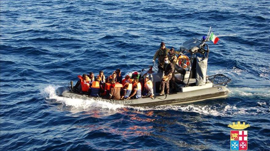 Italia rescata en el mar a más de 1.000 indocumentados en solo 24 horas