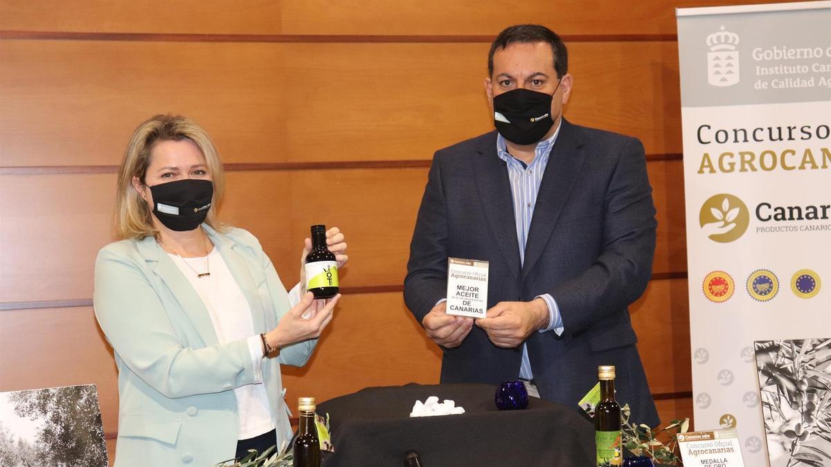Oleoteide, elegido el mejor aceite de oliva virgen extra de Canarias