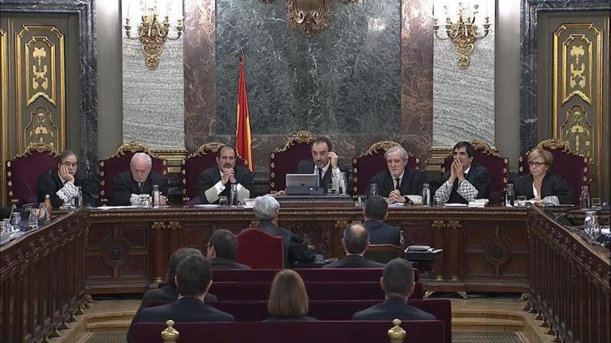 Trapero, durante su declaracion como testigo en el Supremo
