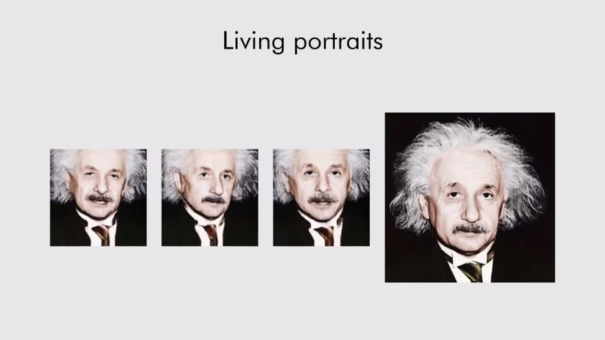 "Albert Einstein, devuelto a la ""vida"""