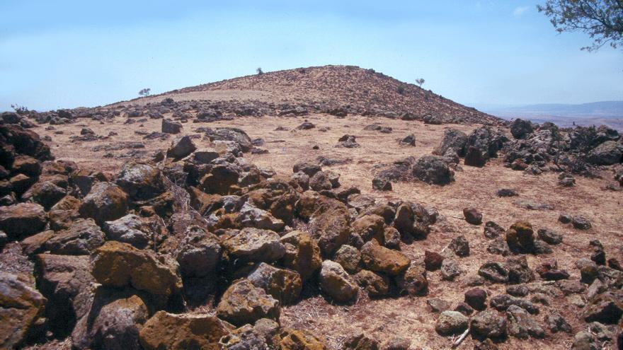Coladas de lava en el Volcán de La Arzollosa