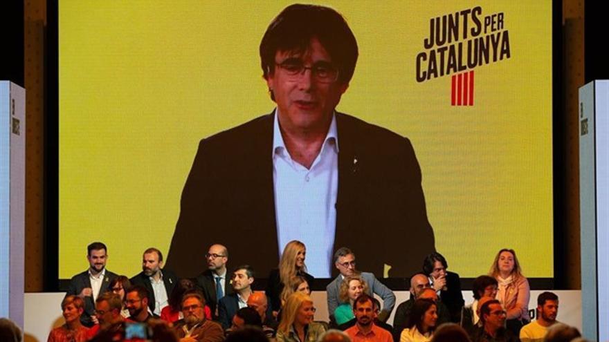 Puigdemont anuncia acciones legales contra la Junta Electoral Central.