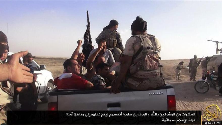 Los yihadistas llevan los combates cada vez más cerca de Bagdad