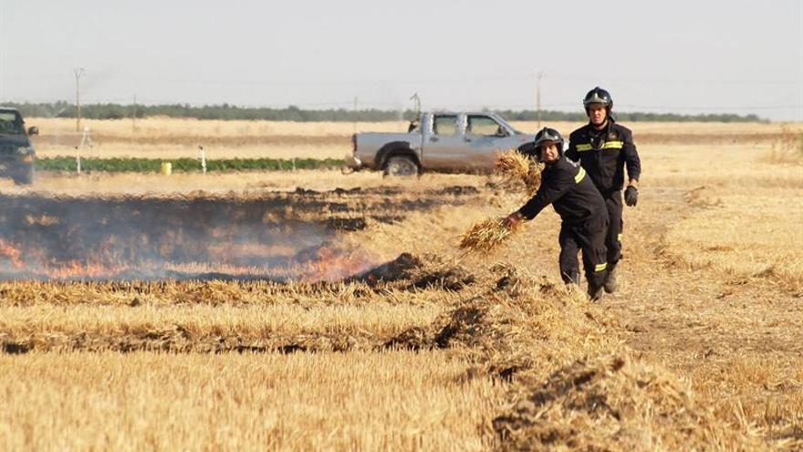 Fallece un hombre de 72 años cuando realizaba una quema de rastrojos en Soria