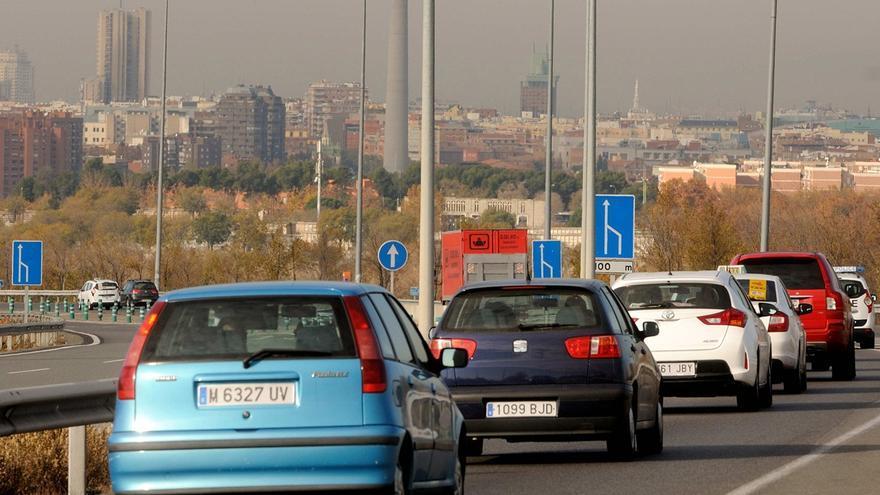 Coches circulando en dirección a Madrid | AYUNTAMIENTO DE MADRID