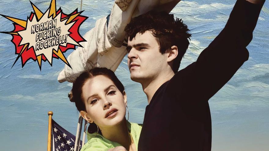 Portada de Norman F*****g Rockwell, nuevo álbum de Lana del Rey