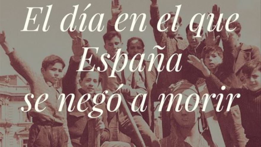 Imagen de la Fundación Francisco Franco sobre el golpe de estado