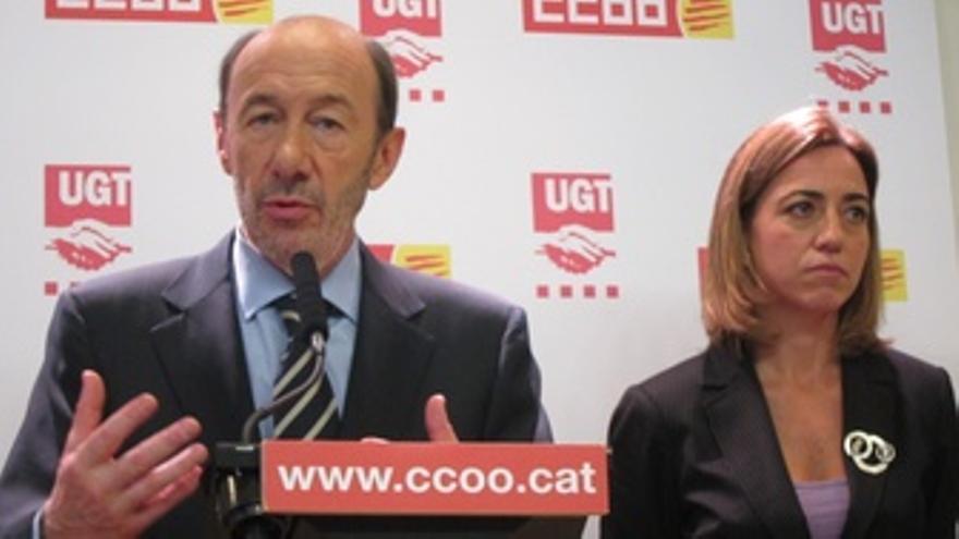 A.P.Rubalcaba Y C.Chacón (PSOE)