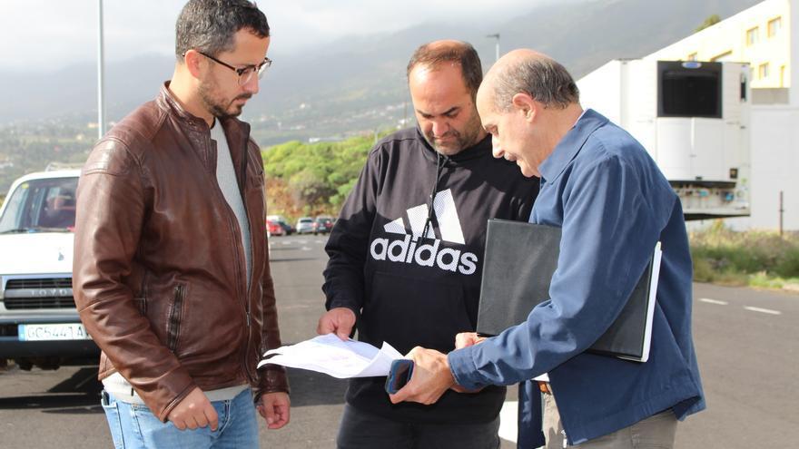 Bernardo Álvarez en el polígono industrial de Mirca.